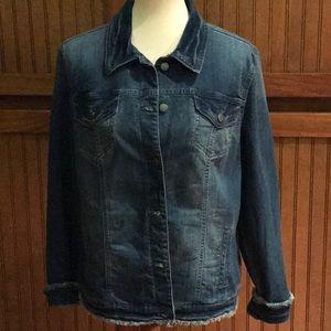 Bandolino Dk. Blue Jean Jacket NWT Size L